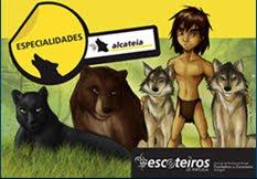 Especialidades Alcateia: