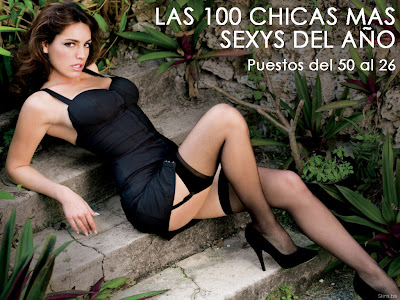 100 chicas mas sexys: