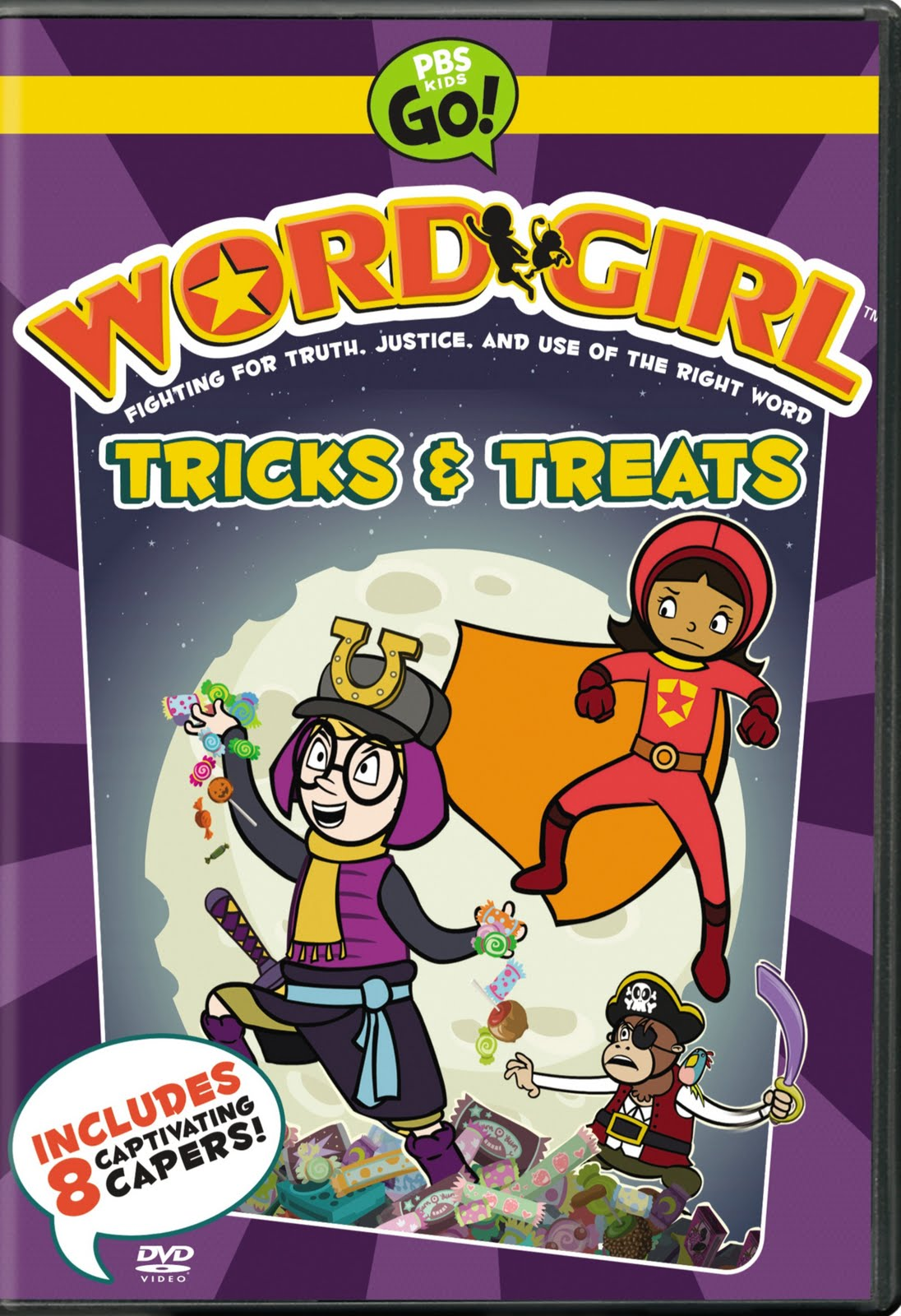 momma drama: wordgirl: tricks and treats dvd review