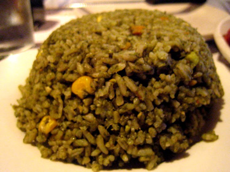 cilantro rice included with our entrees we love cilantro so