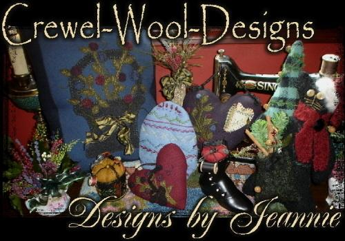 Crewel-Wool-Designs