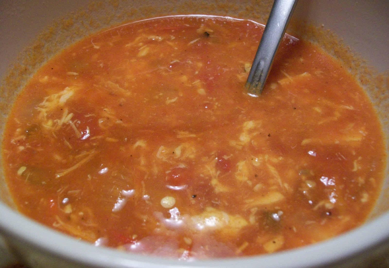 Elizabeth's Cooking Experiments: Buffalo Chicken Chili