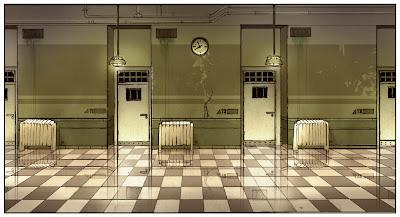 Mental Hospital Hallway