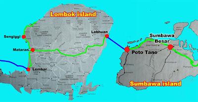 Risultati immagini per SUMBAWA E LOMBOK CARTINA?