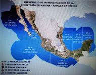 Regiones y Zonas Navales.