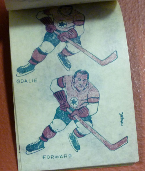 1950s Hockey Tattoo Book
