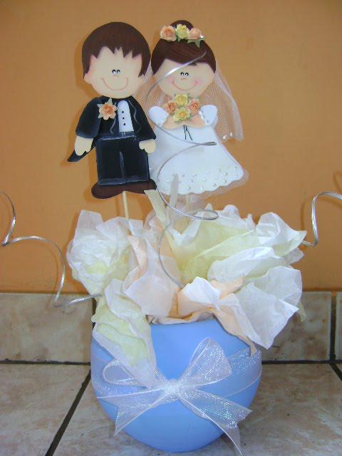 Centros de mesa para boda en foami - Imagui