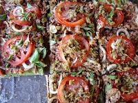 Pizza Viva - massa preparada com centeio germinado