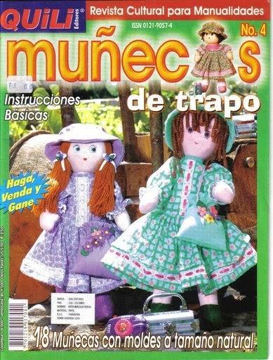 Juegos De Baño Utilisima:Manualidades: MUÑECOS DE TRAPO