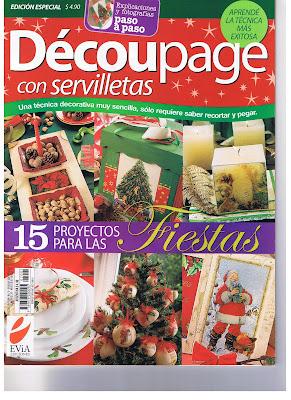 Decoupage con revistas
