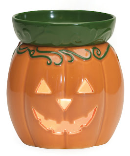 Scentsy Jack O' Lantern Halloween Holiday Warmer