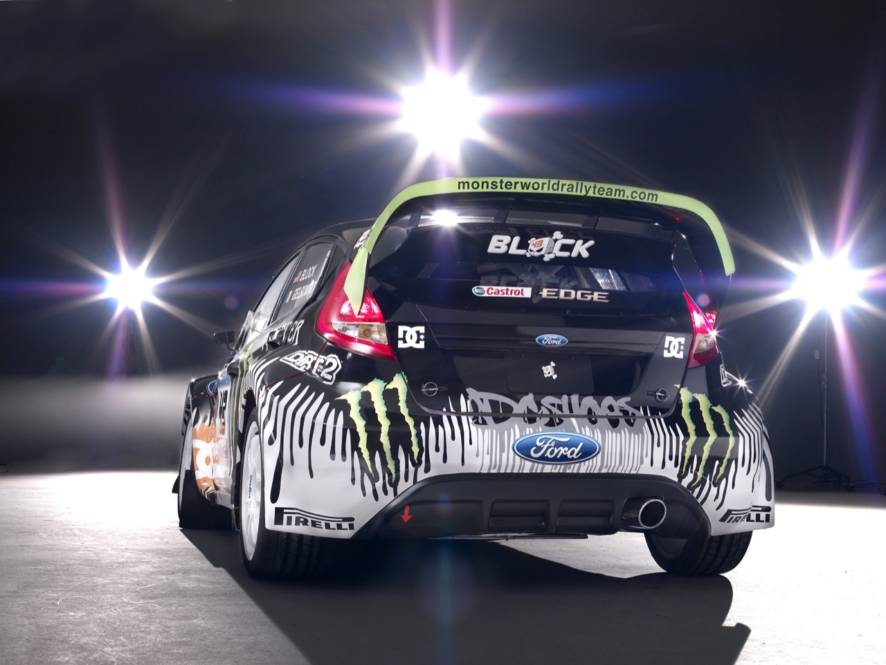 ford fiesta monster energy