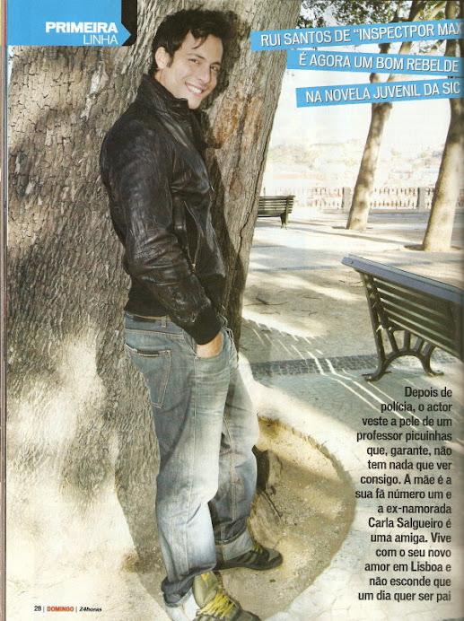 """Entrevista de Rui Santos á Revista """" 24 horas"""""""