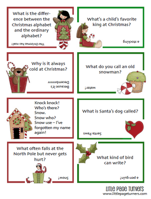 Free christmas activity printables for kids