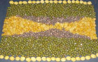 lentils rug
