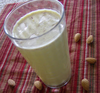 badam milk almond drink