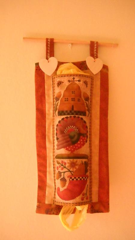 Creare con il country decorative porta sacchetti - Porta sacchetti ...