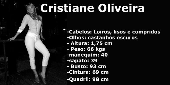 Cristiane Oliveira Atriz e Modelo