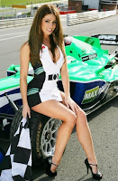Lucy Pinder at the A1 GP promotional photoshoot