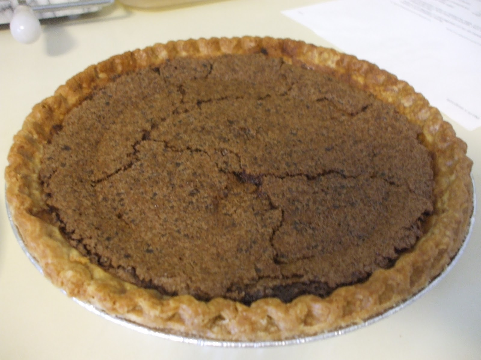 Chocolate Chess Pie Unsweetened Chocolate