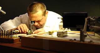 Maik Pfeiffer is a finisseur, he is one of the best watch finishers and finishes Lange watches