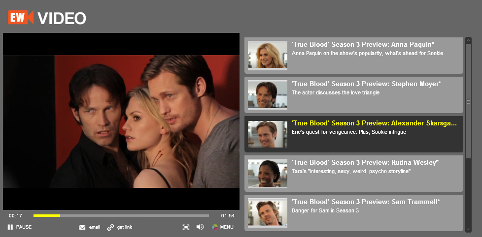 true blood season 3 cast. True Blood Season 3: EW cast member interviews