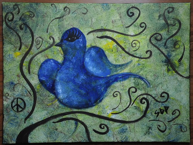 Peace Watercolors Paintings By Stephanie Pulliam