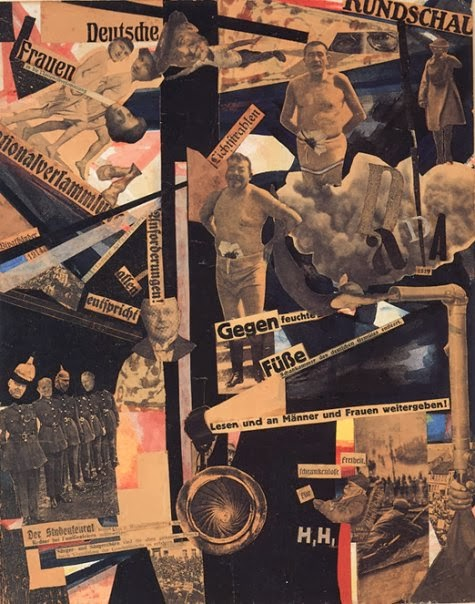 Review Of Artist Design : Weimar hannah höch brushflurlets and beer bellies