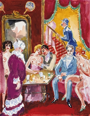 Weimar kees van dongen her body is my landscape for A la maison close
