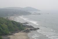 vagator beach- goa beach- tourism places in india