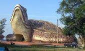4 Bangunan berbentuk binatang raksasa di Indonesia