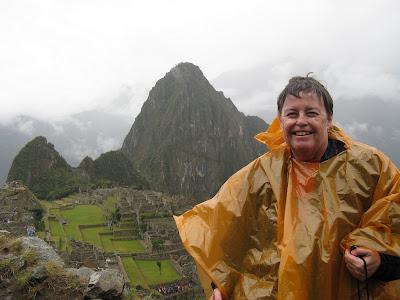 Jean at Machu Picchu