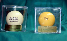 Trophy Cue balls