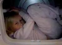 洗濯機でグルグル!