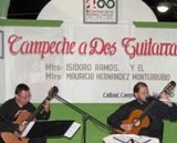 """Campeche a Dos Guitarras"" Corredor Palacio Ciudad Calkiní. 8dic2010."