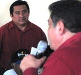 Gobernador de Campeche visita Ciudad de Calkiní. 31ene2011.
