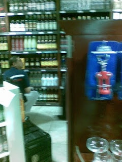 Mikey Arroyo in Liquor Section