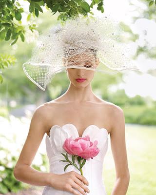 Novias con sombrero o sombreros para novias - Foro Moda Nupcial ... 034a330602f