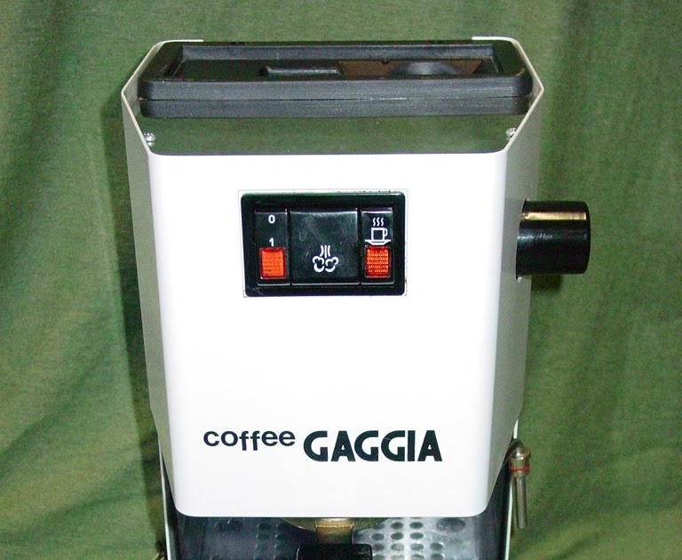 Haphazard Espresso  Gaggia Coffee Parts List