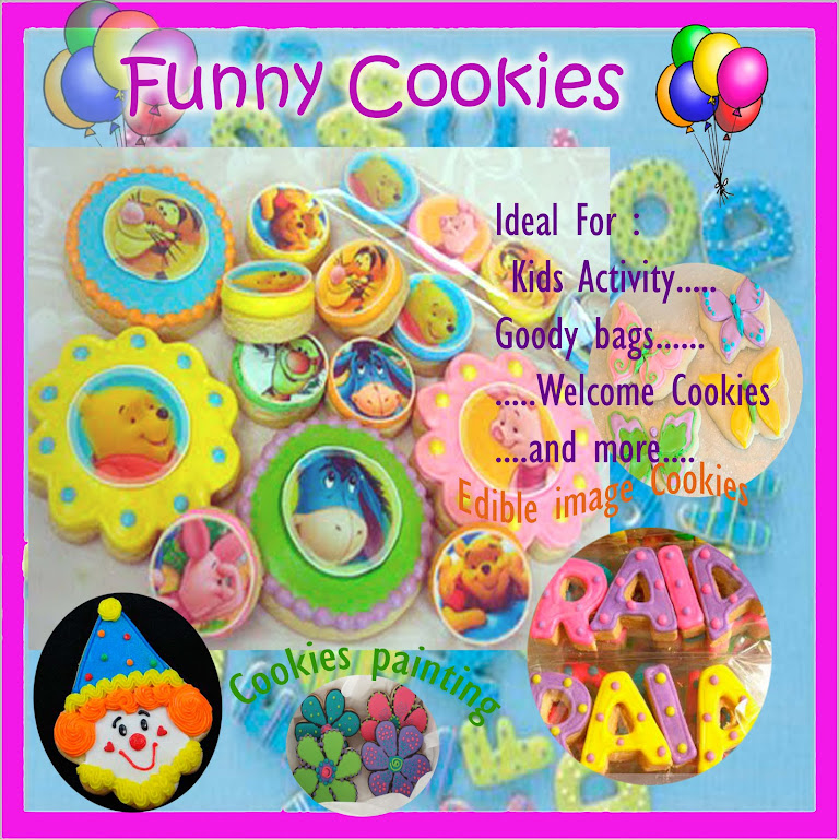 Cookies painting