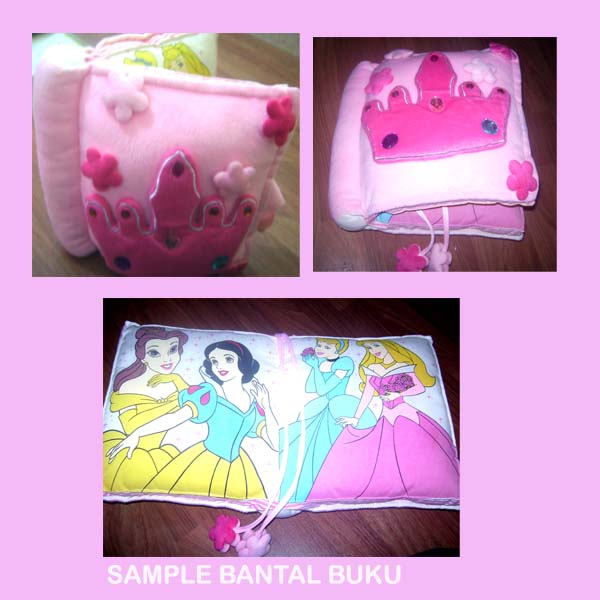 Bantal buku Princess