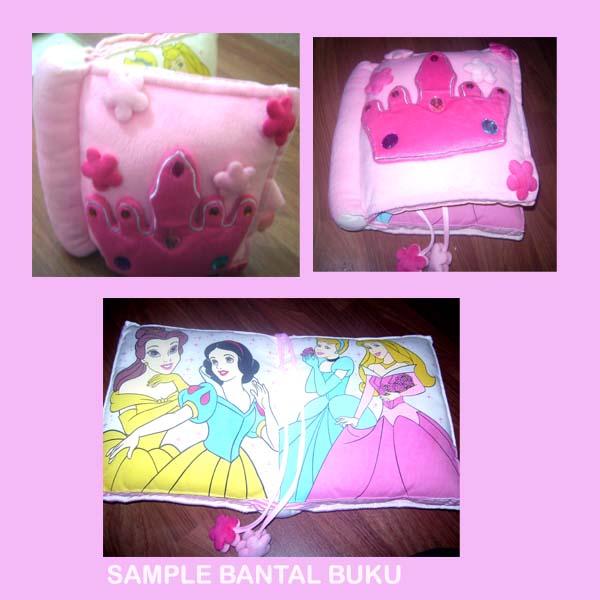 Bantal buku Princess
