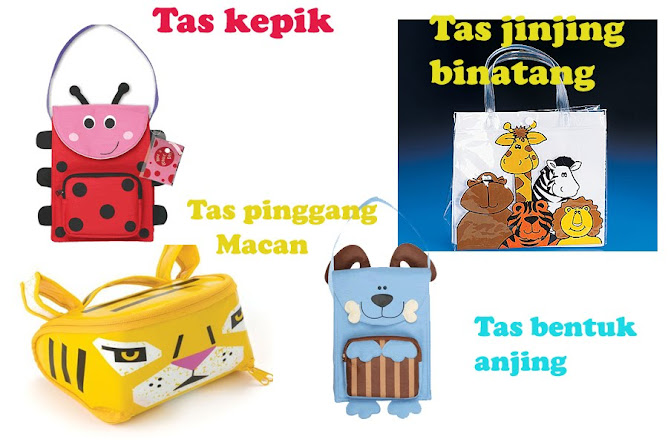 Tas Lunch box bentuk binatang.