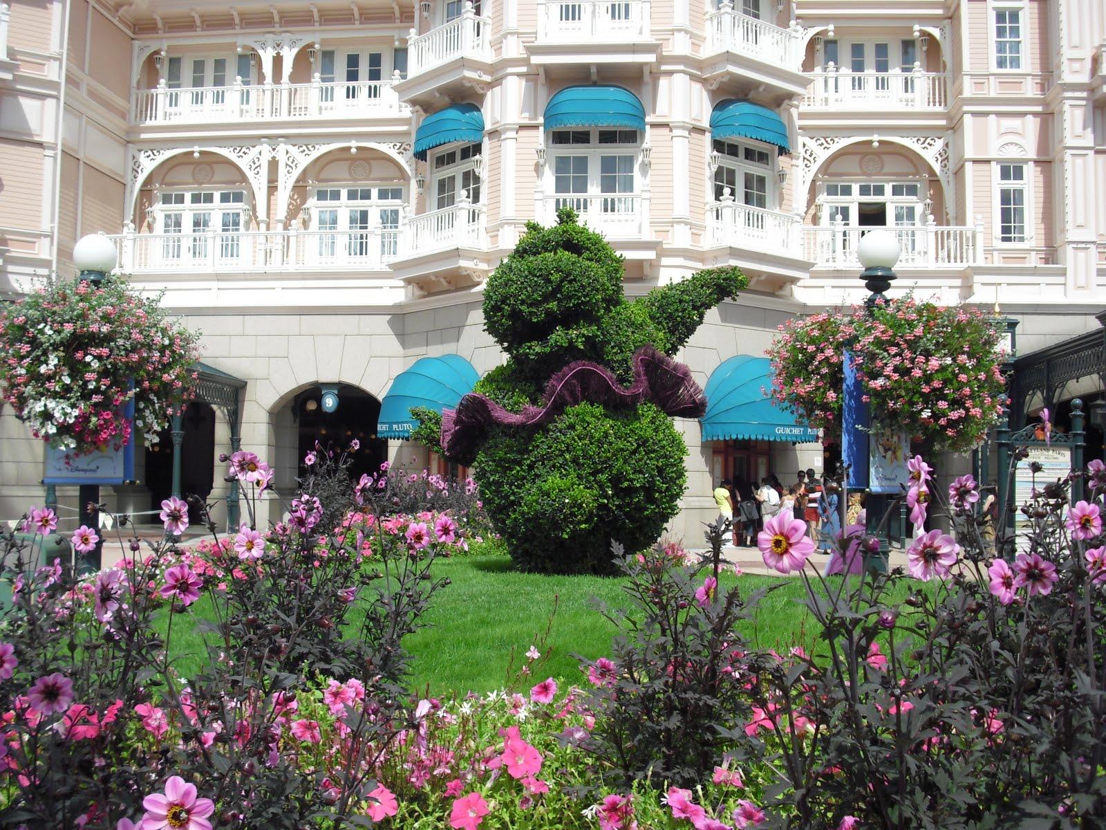 Cuentas mas menos jardines disney for Jardines espectaculares