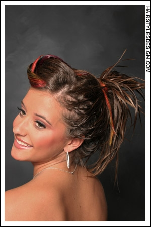 updo medium curly hair5 Formal Updos for Prom 2010