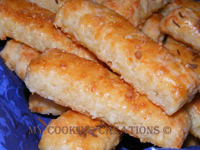 Biscotti con formaggio * Соленки с кашкавал