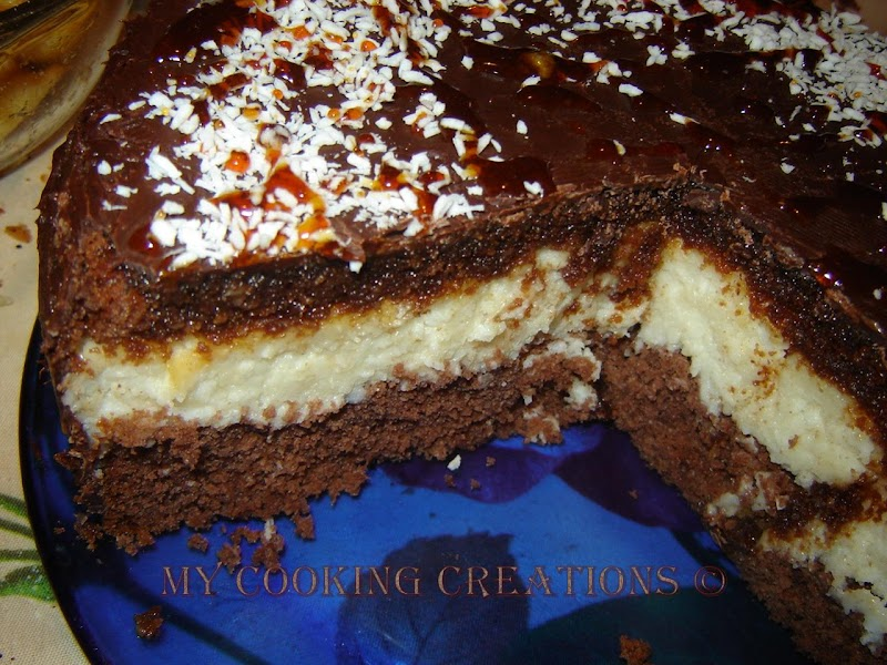 Торта Баунти * Bounty cake
