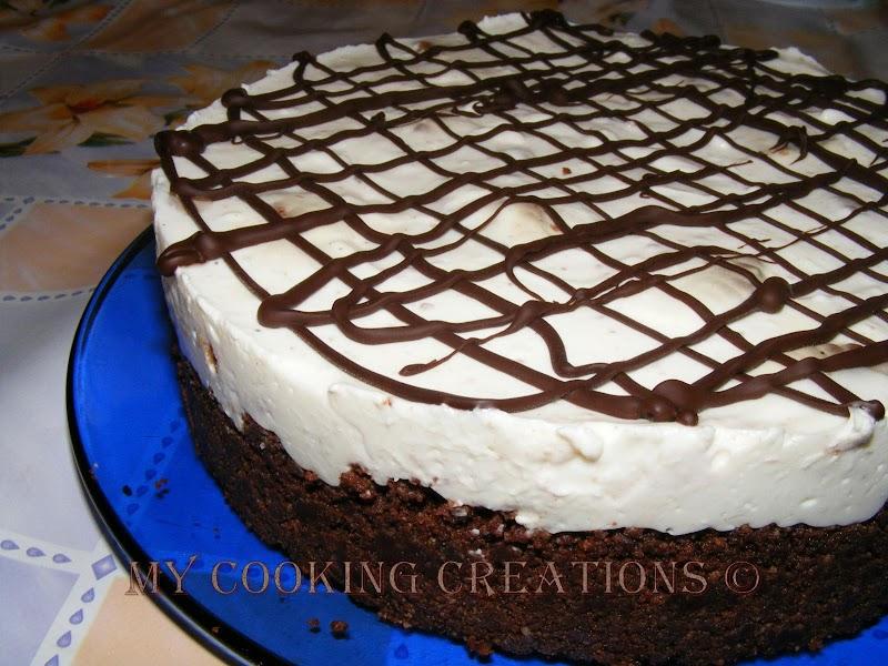 Cookies and cream cheesecake * Чийзкейк с бисквитки и сметана