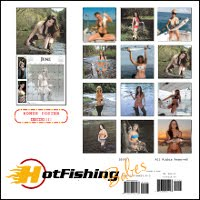 Free Sexy Fishing Babes Calendar