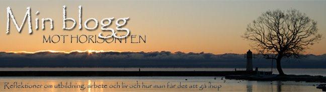 Min blogg mot horisonten